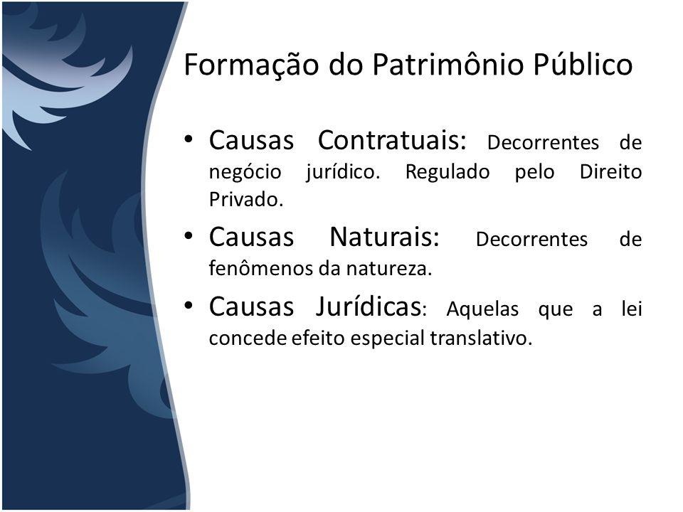 Formação do Patrimônio Público