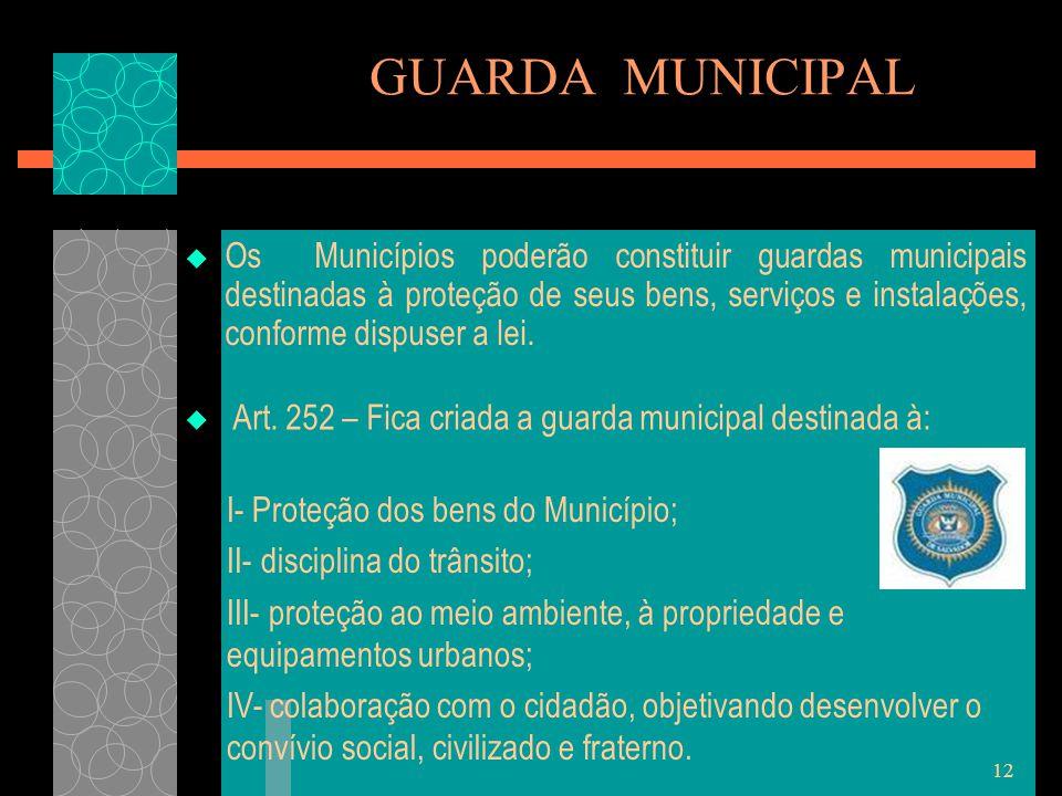 GUARDA MUNICIPAL