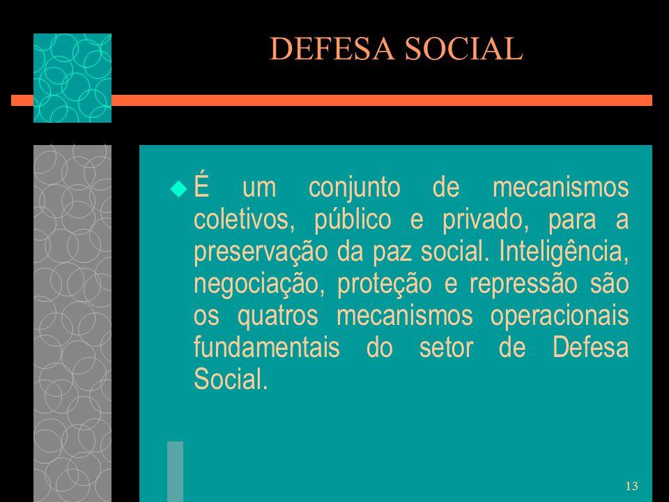 DEFESA SOCIAL