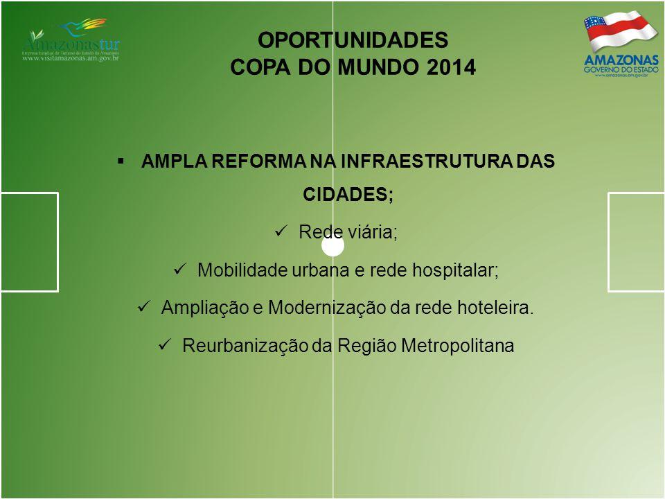 AMPLA REFORMA NA INFRAESTRUTURA DAS CIDADES;