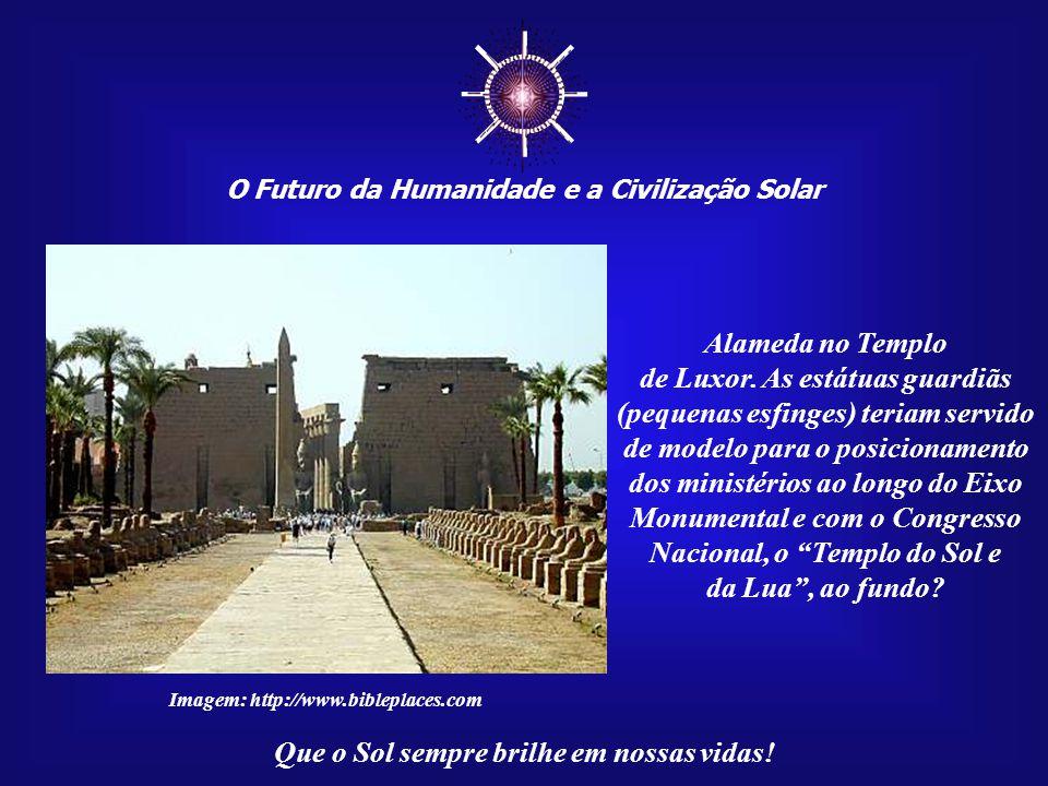 ☼ O Futuro da Humanidade e a Civilização Solar. Alameda no Templo.