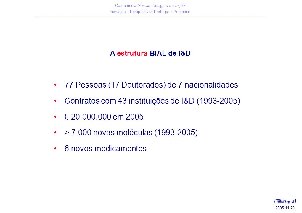 77 Pessoas (17 Doutorados) de 7 nacionalidades