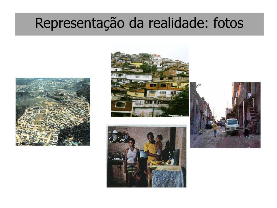 Representação da realidade: fotos