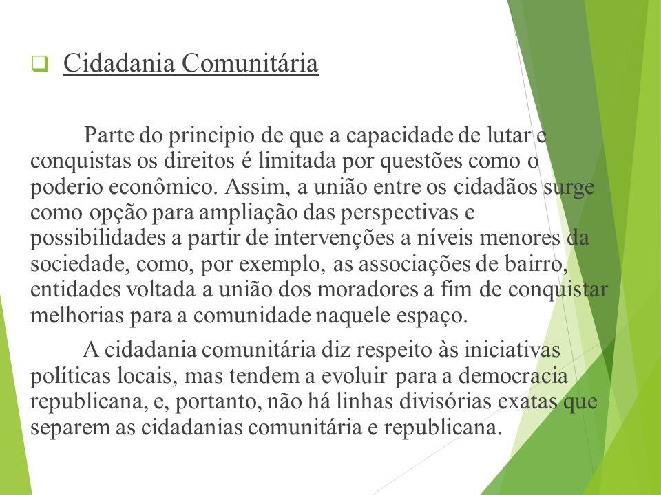 Cidadania Comunitária