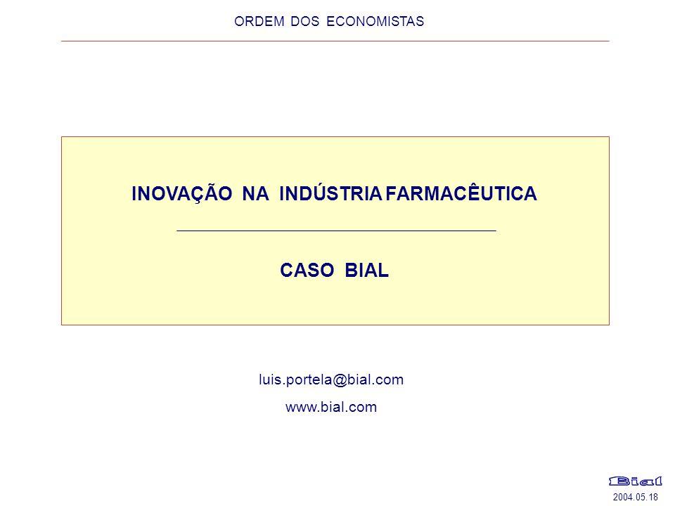 INOVAÇÃO NA INDÚSTRIA FARMACÊUTICA