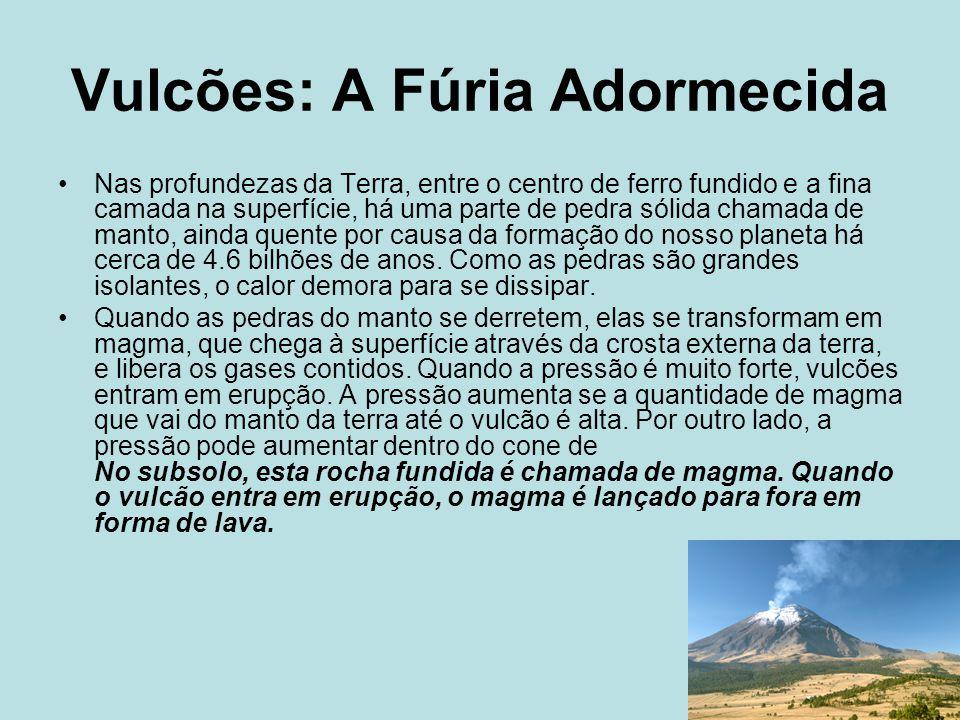 Vulcões: A Fúria Adormecida