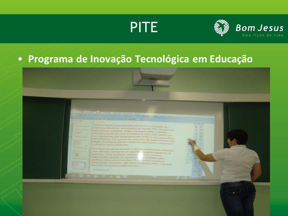 PITE Programa de Inovação Tecnológica em Educação