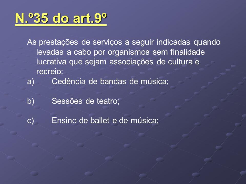 N.º35 do art.9º