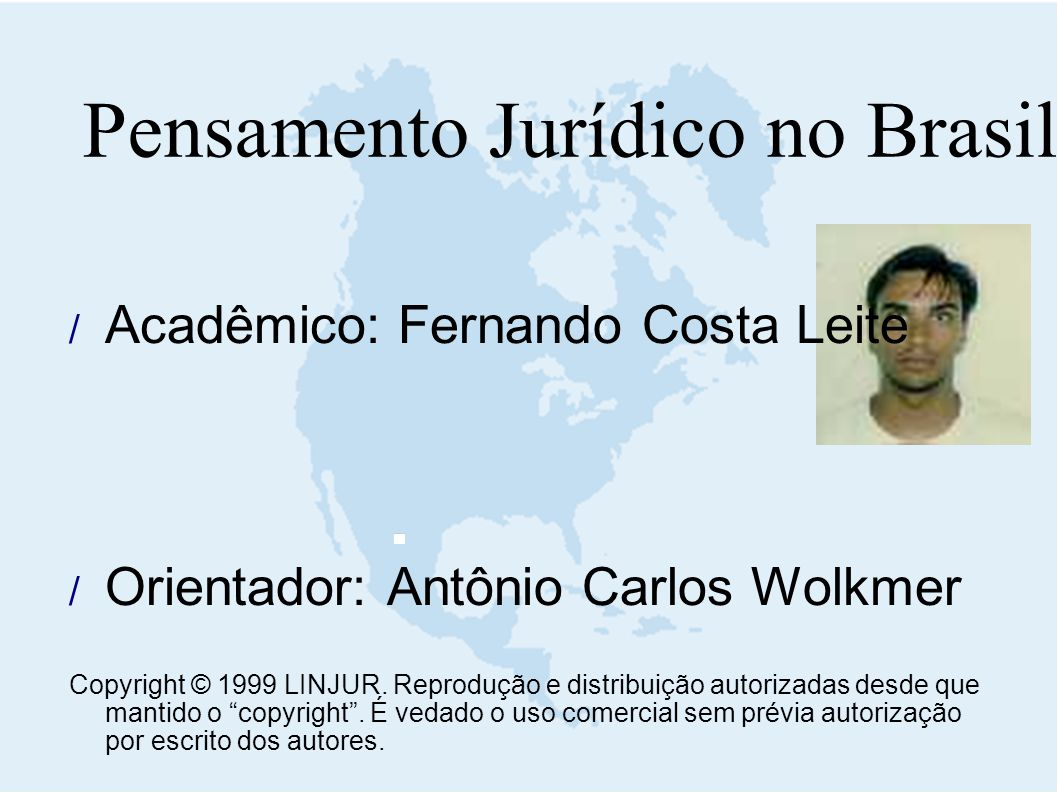 Pensamento Jurídico no Brasil