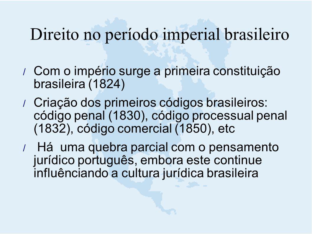 Direito no período imperial brasileiro