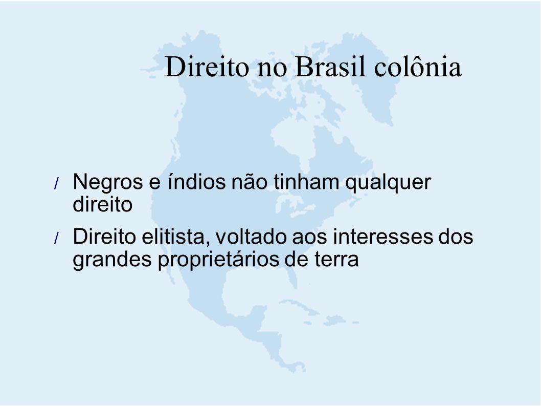Direito no Brasil colônia