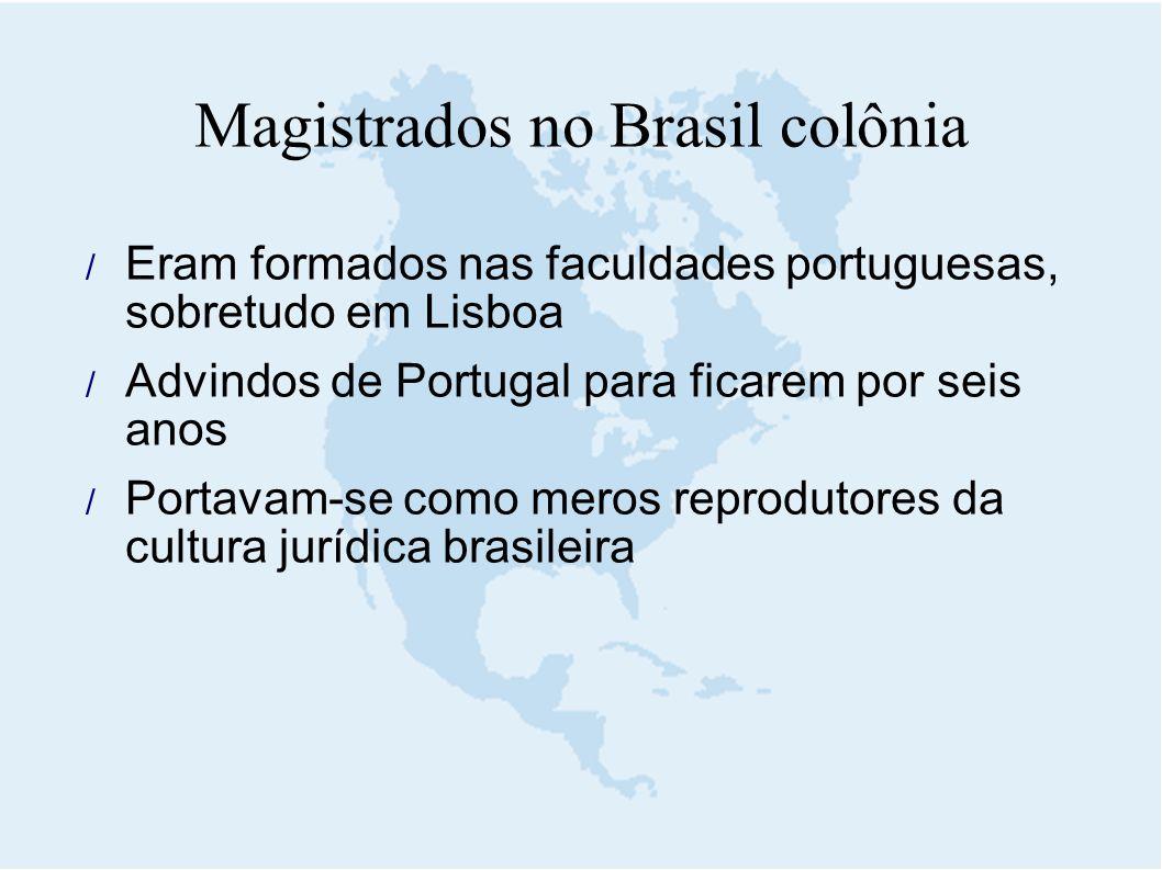 Magistrados no Brasil colônia