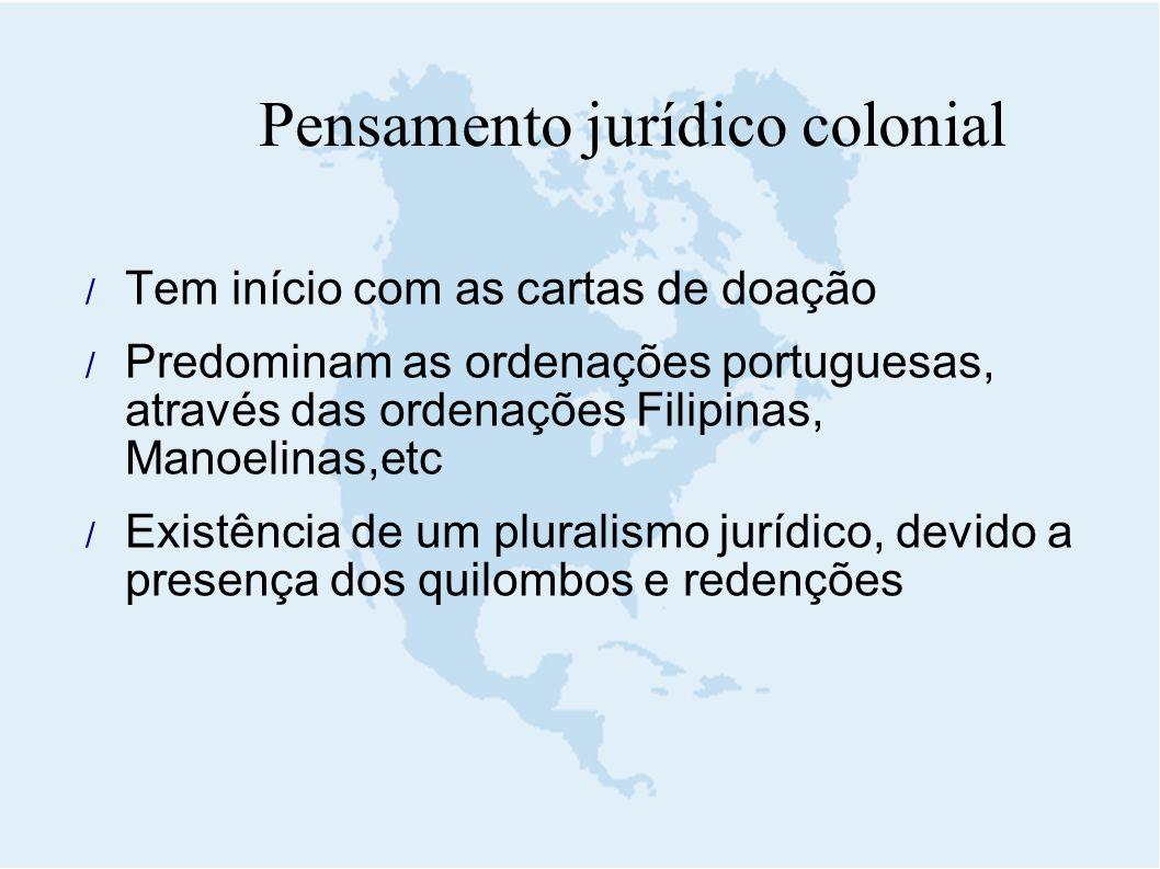 Pensamento jurídico colonial