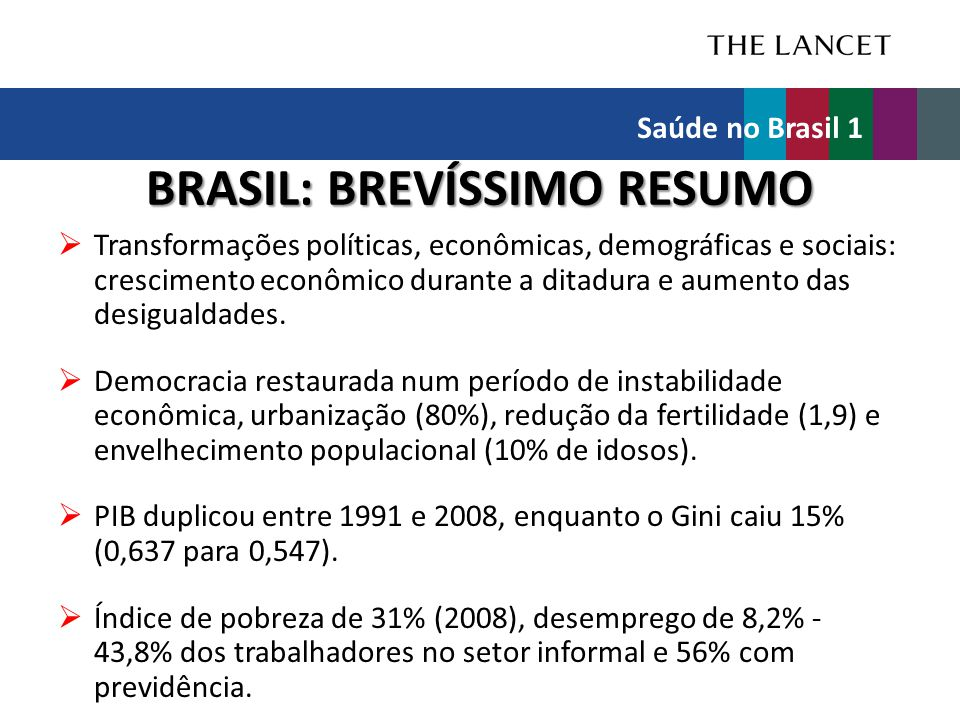 BRASIL: BREVÍSSIMO RESUMO