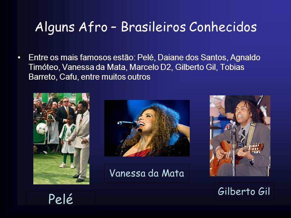 Alguns Afro – Brasileiros Conhecidos