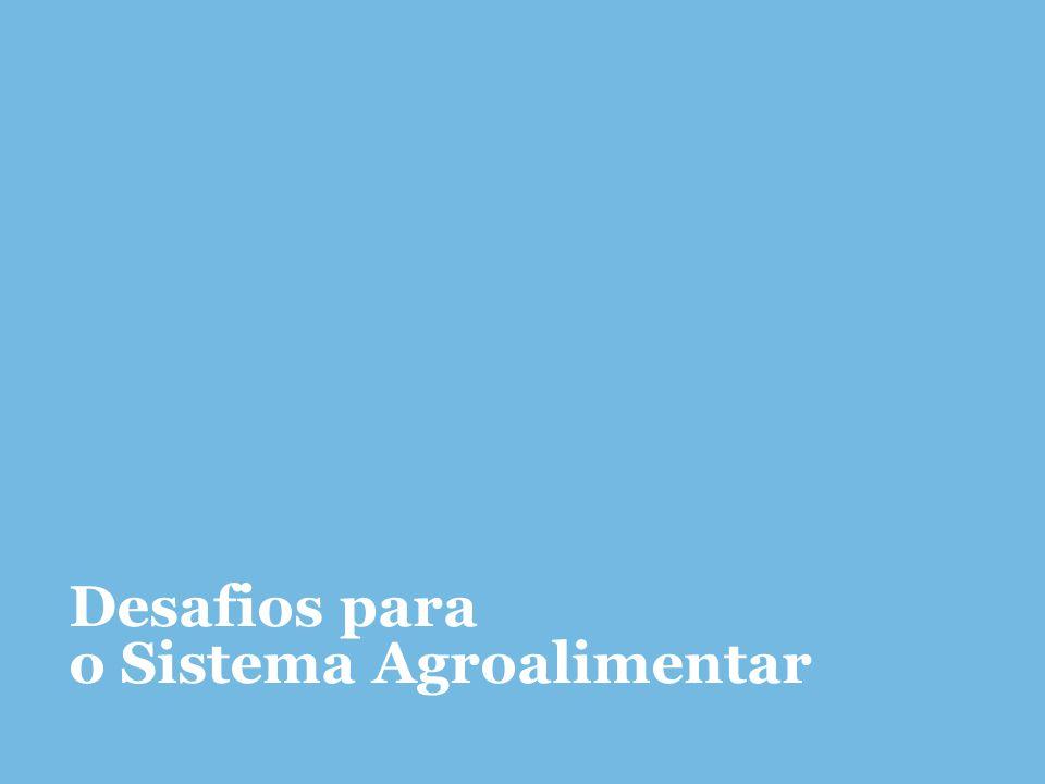 Desafios para o Sistema Agroalimentar