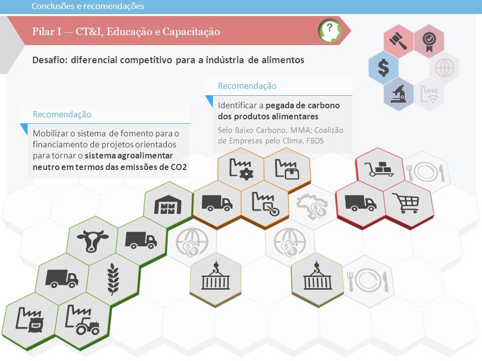 Pilar I — CT&I, Educação e Capacitação