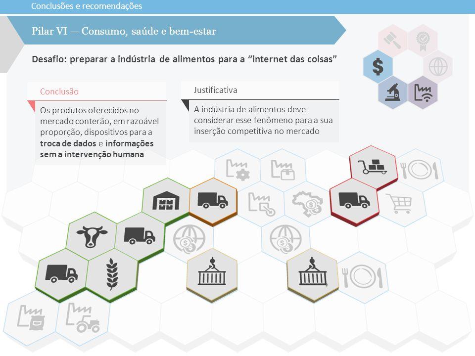 Pilar VI — Consumo, saúde e bem-estar