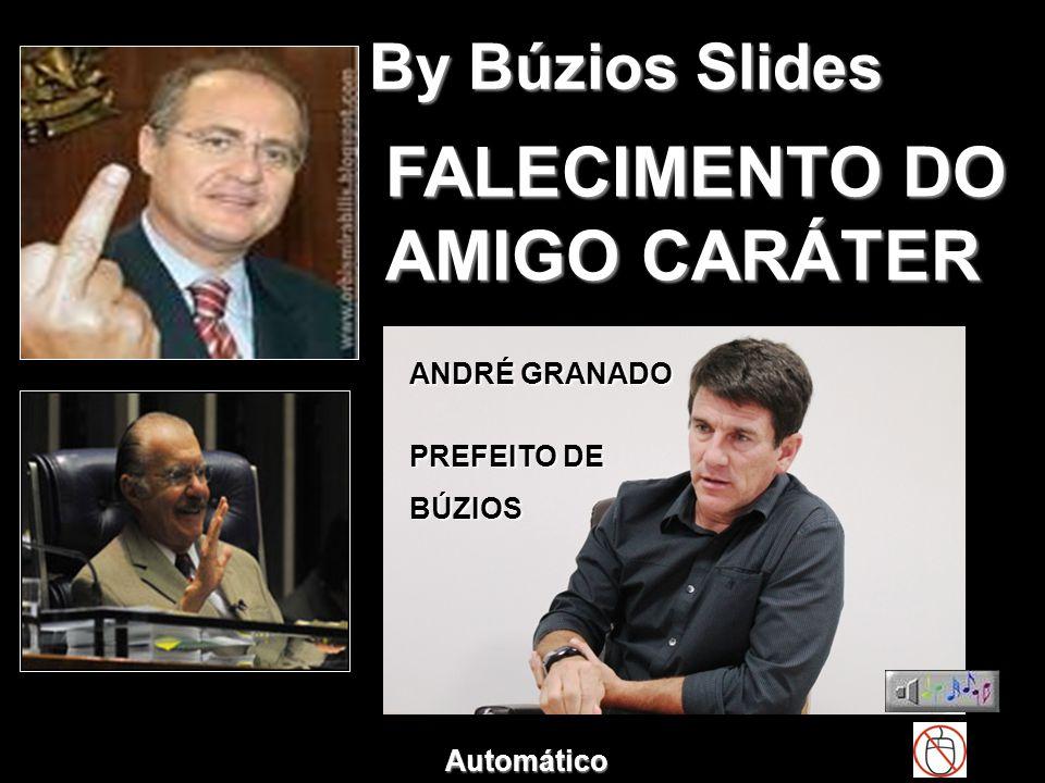 FALECIMENTO DO AMIGO CARÁTER