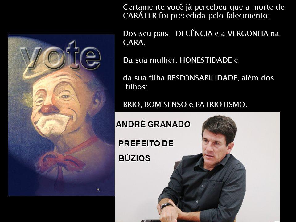 ANDRÉ GRANADO PREFEITO DE BÚZIOS