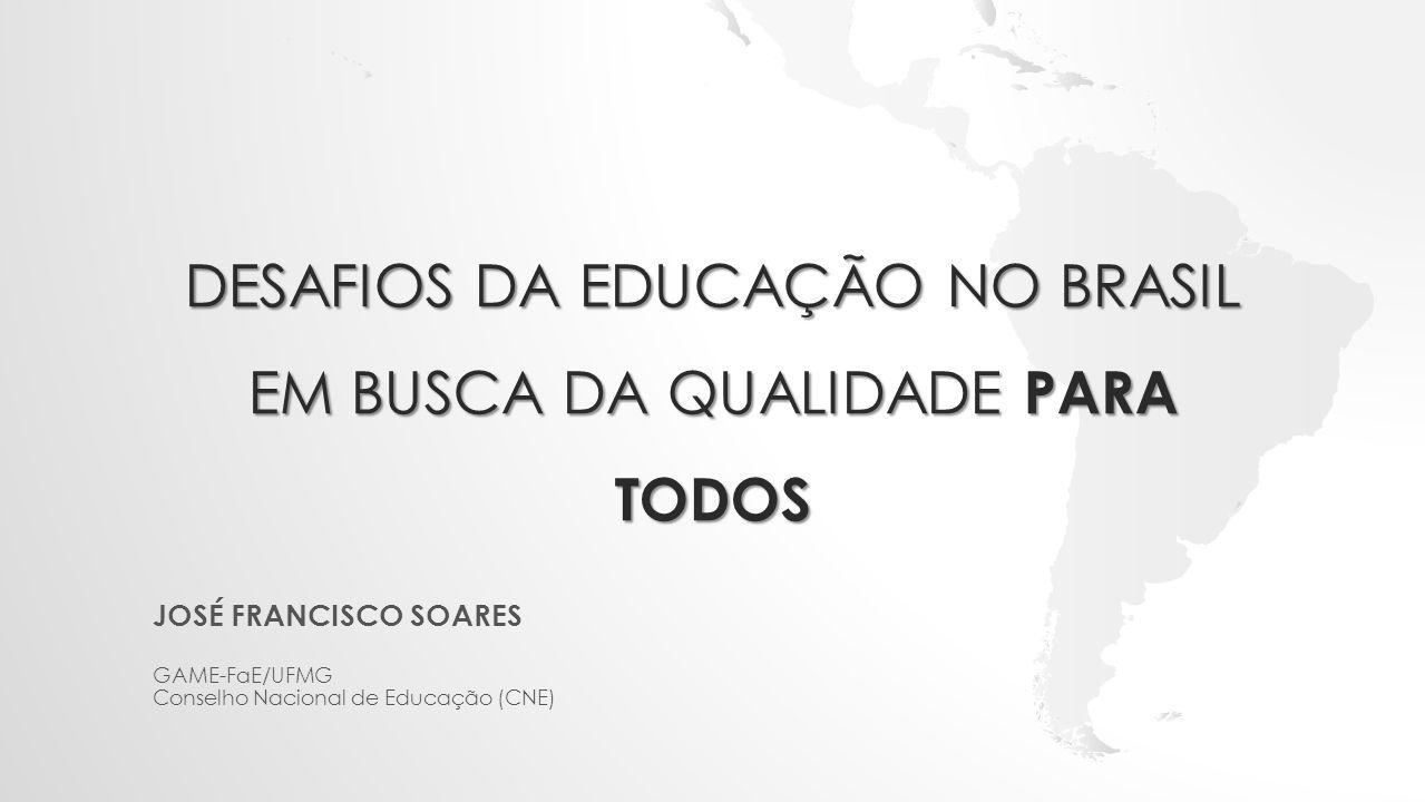 Desafios da educação no Brasil em busca da qualidade para todos