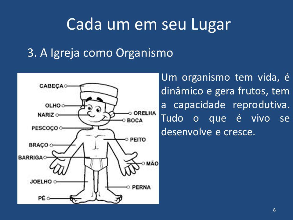 3. A Igreja como Organismo