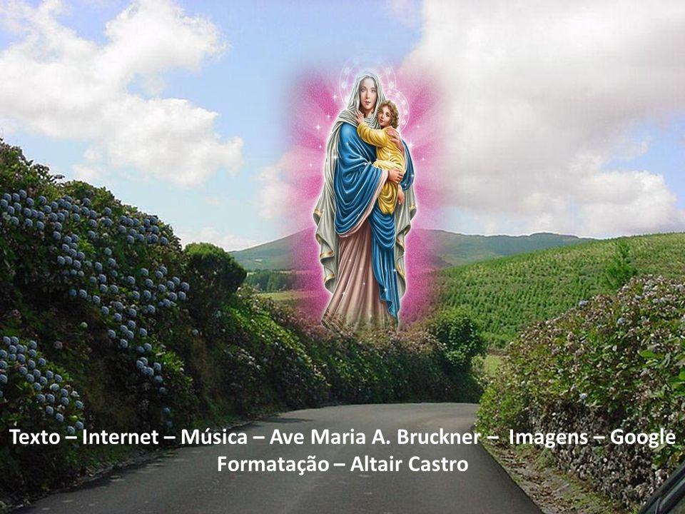 Texto – Internet – Música – Ave Maria A. Bruckner – Imagens – Google