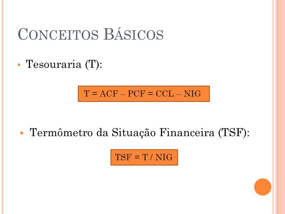 Conceitos Básicos Tesouraria (T):