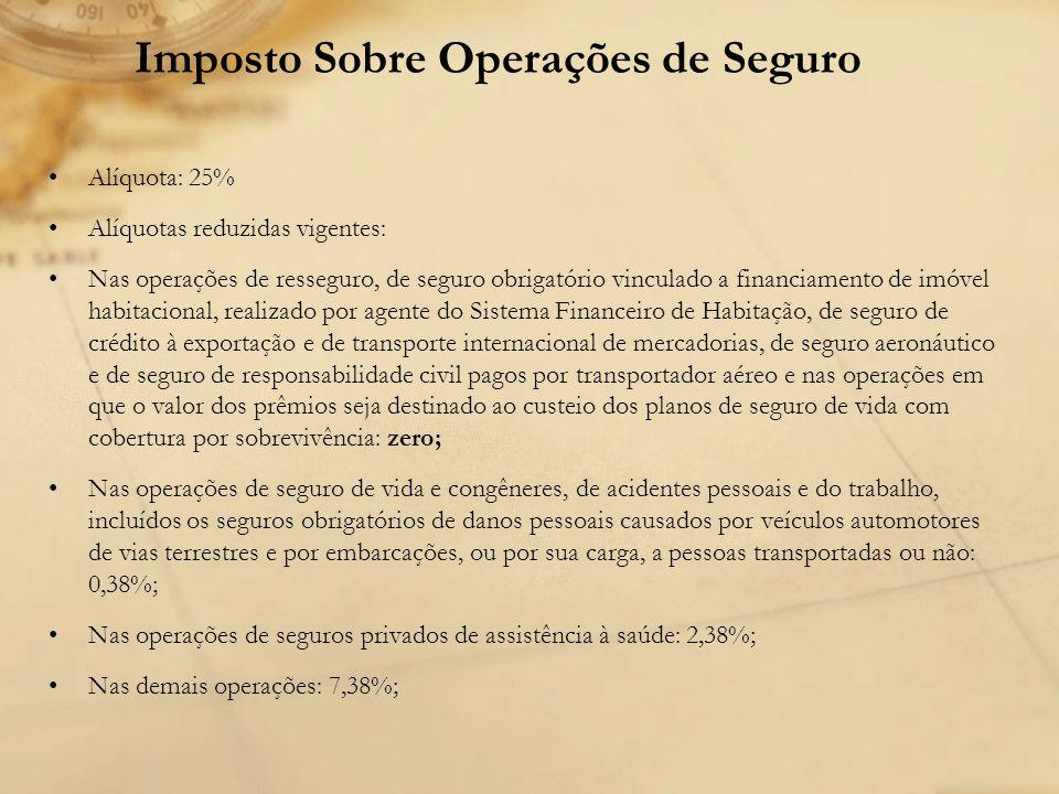 Imposto Sobre Operações de Seguro