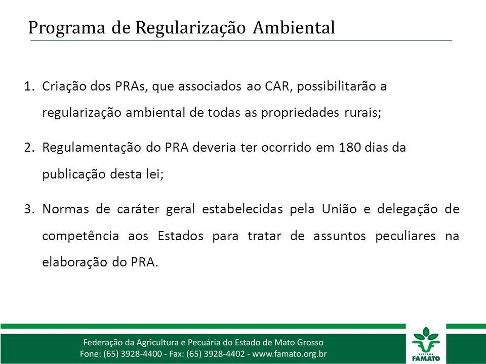 Programa de Regularização Ambiental