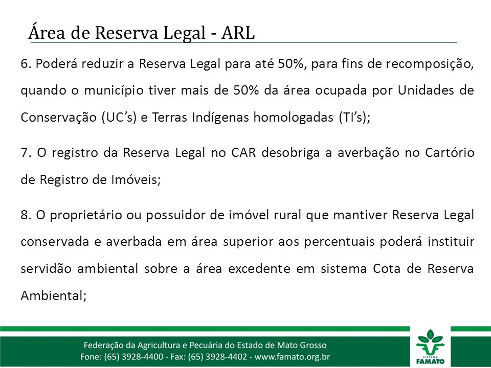 Área de Reserva Legal - ARL