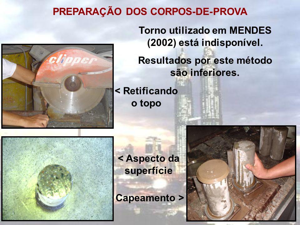 PREPARAÇÃO DOS CORPOS-DE-PROVA