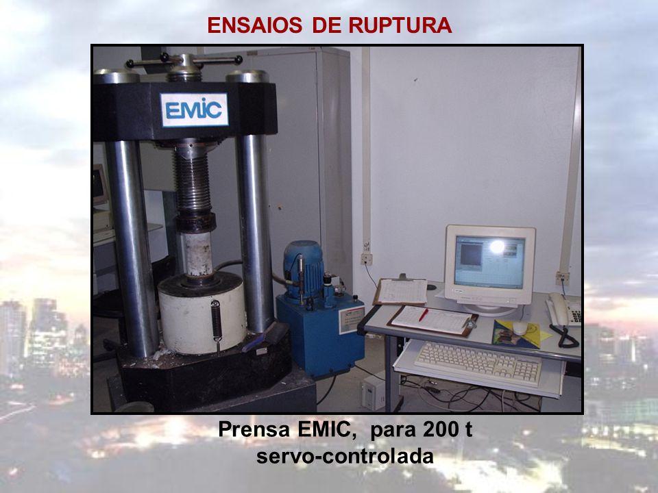 Prensa EMIC, para 200 t servo-controlada