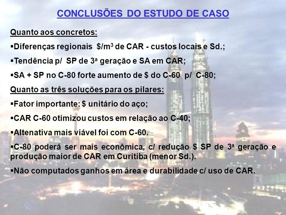 CONCLUSÕES DO ESTUDO DE CASO