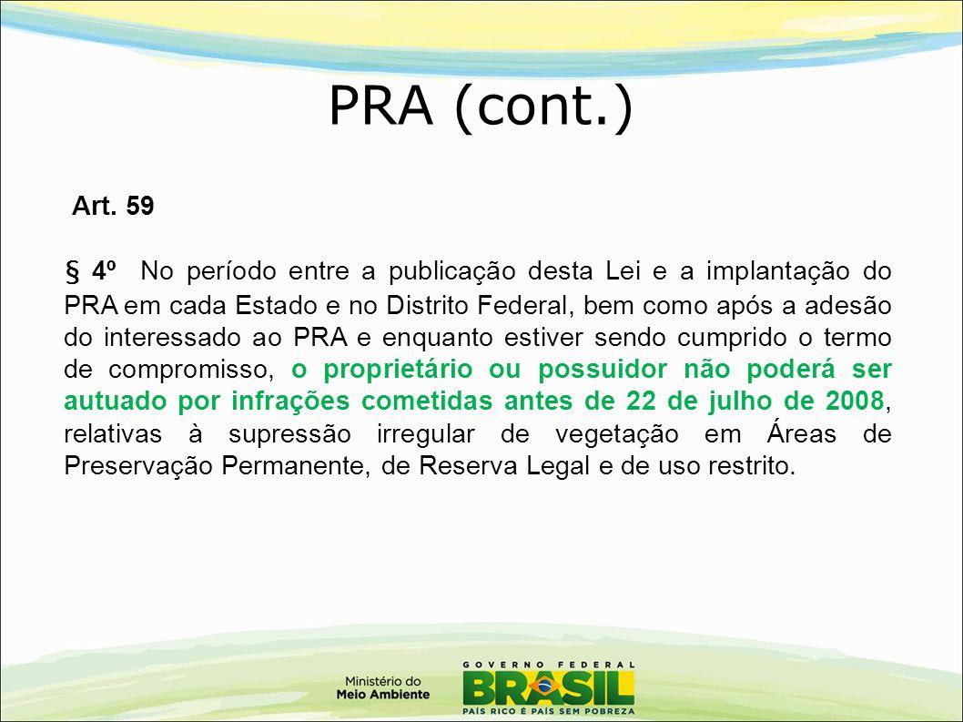 PRA (cont.) Art. 59.