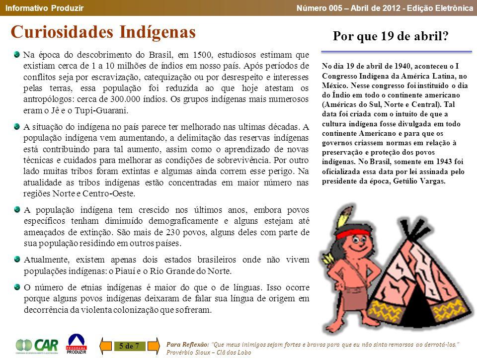 Curiosidades Indígenas
