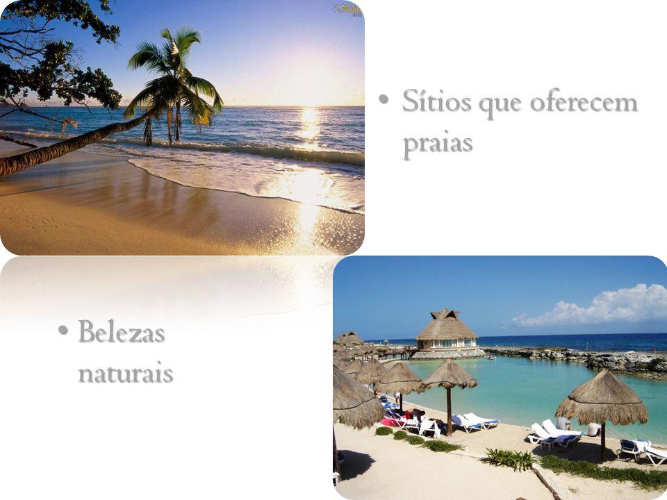 Sítios que oferecem praias