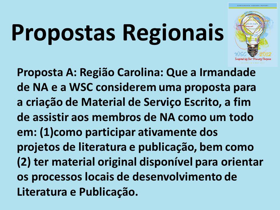 Propostas Regionais