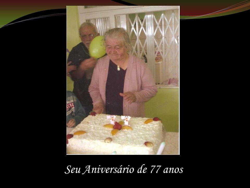 Seu Aniversário de 77 anos