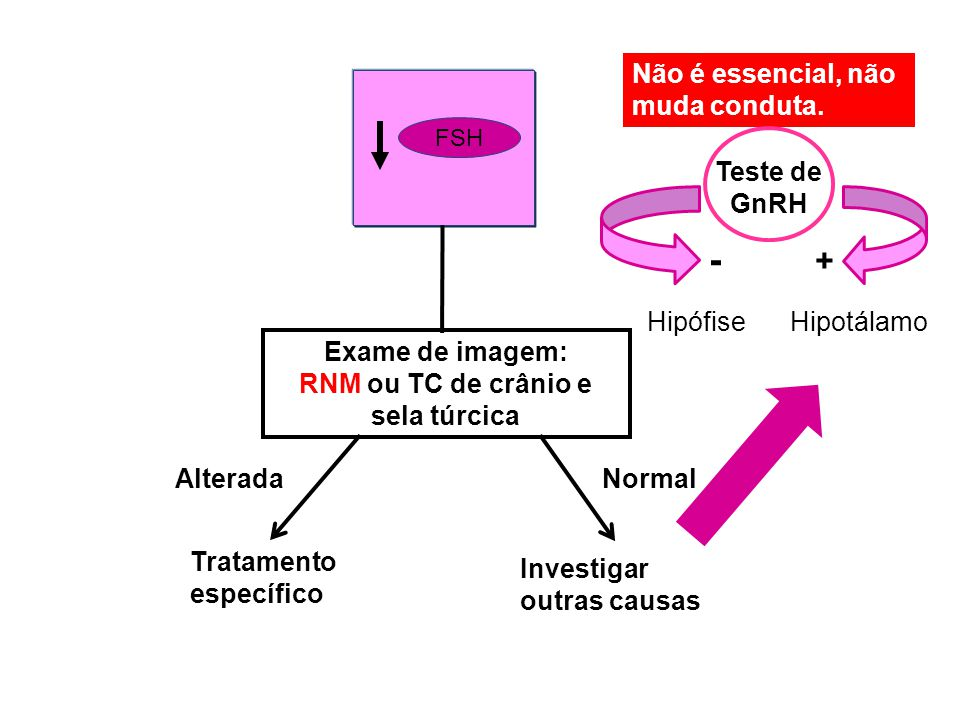 RNM ou TC de crânio e sela túrcica