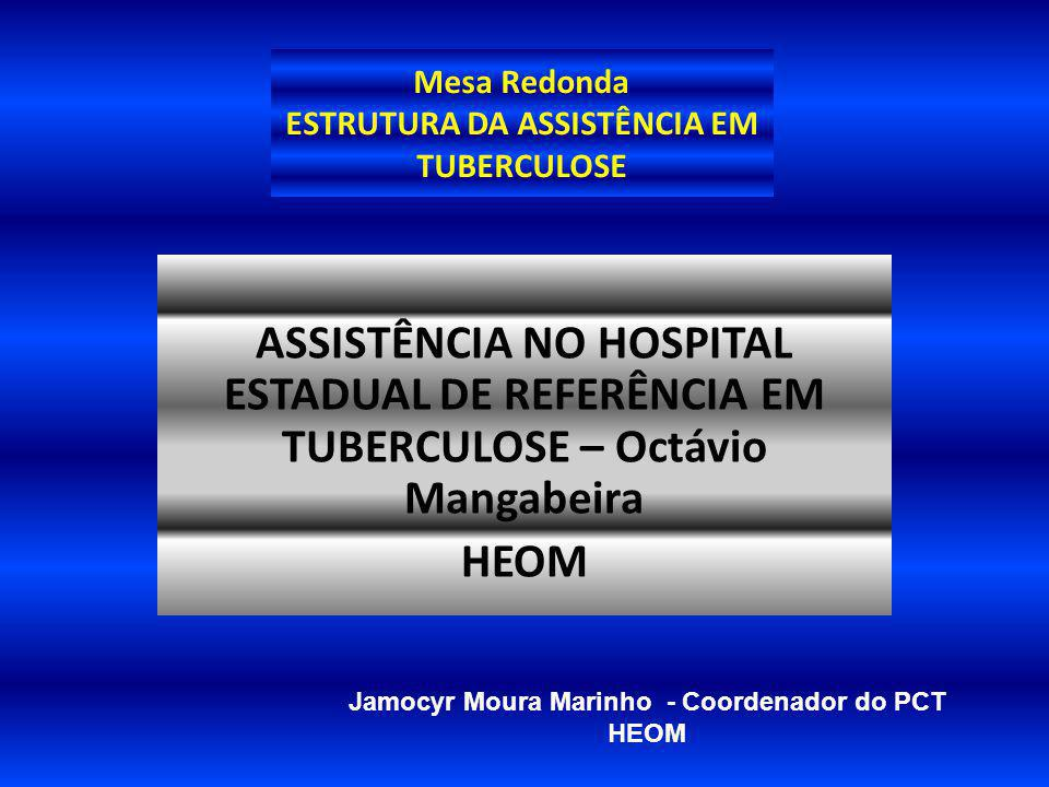 Mesa Redonda ESTRUTURA DA ASSISTÊNCIA EM TUBERCULOSE