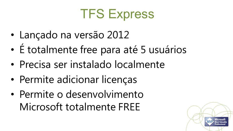 TFS Express Lançado na versão 2012