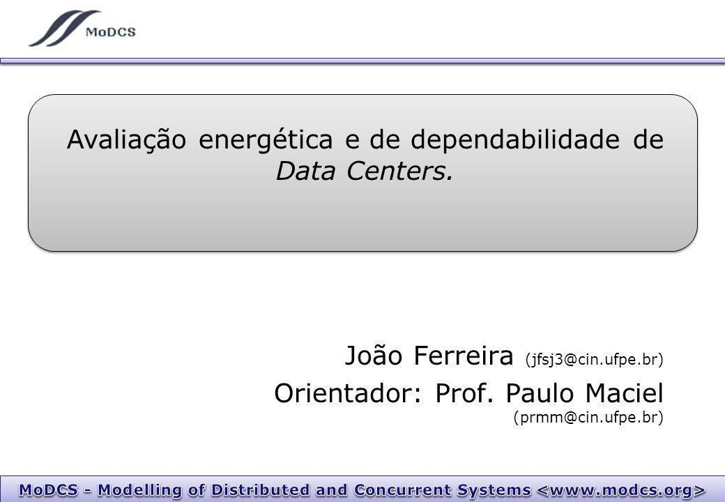 Avaliação energética e de dependabilidade de Data Centers.