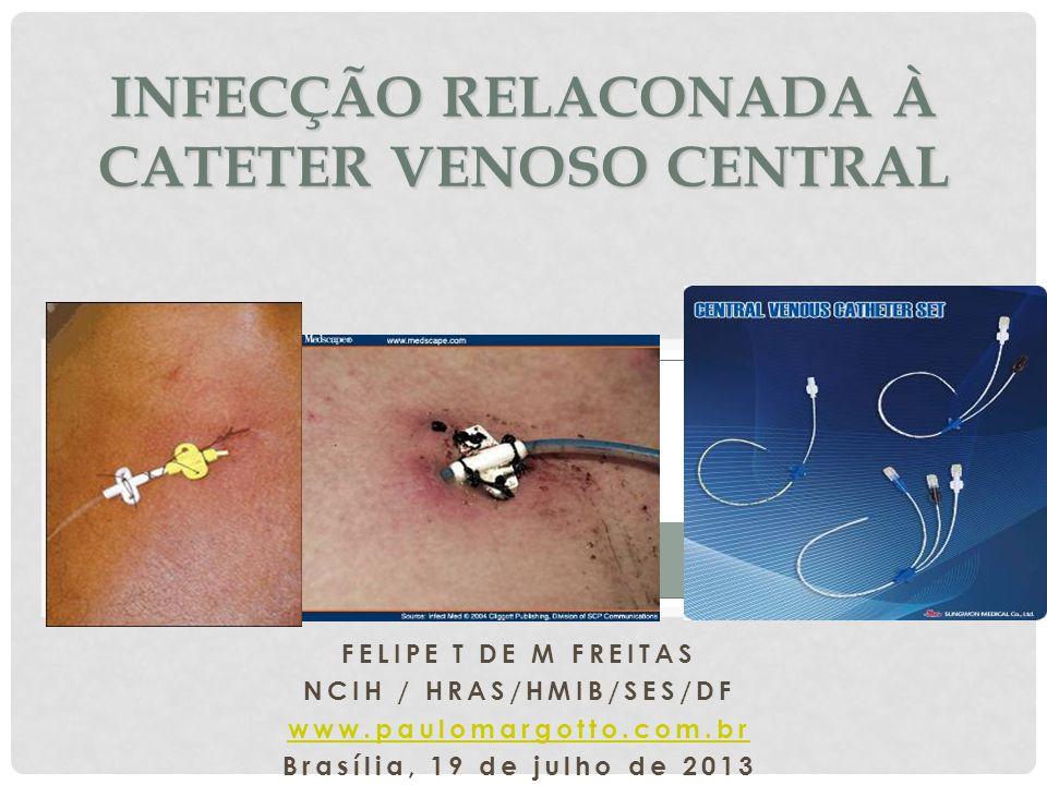 INFECÇÃO RELACONADA À CATETER VENOSO CENTRAL