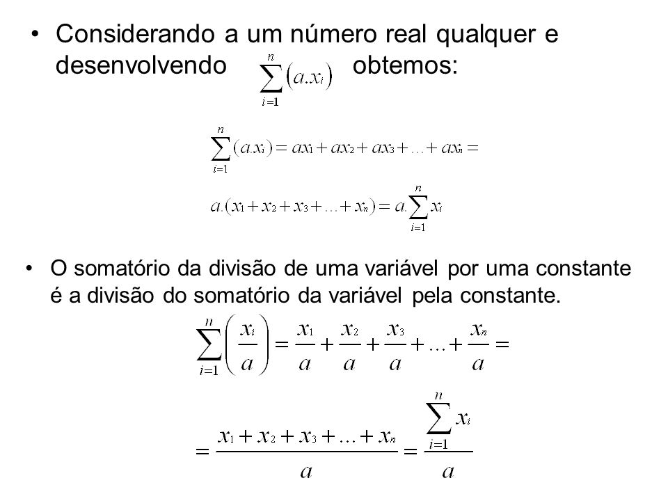 Considerando a um número real qualquer e desenvolvendo obtemos:
