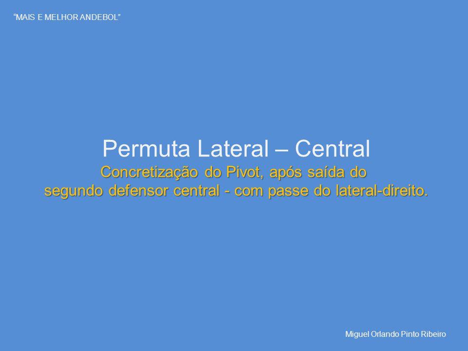 Permuta Lateral – Central