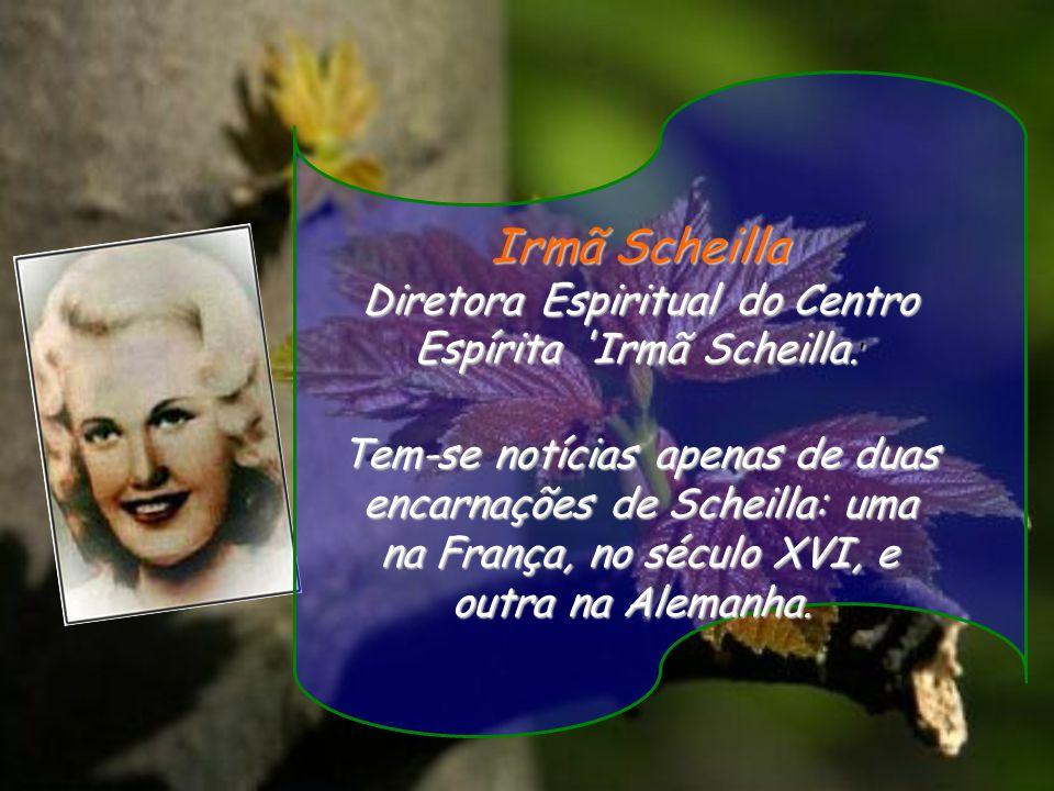 Diretora Espiritual do Centro Espírita Irmã Scheilla.