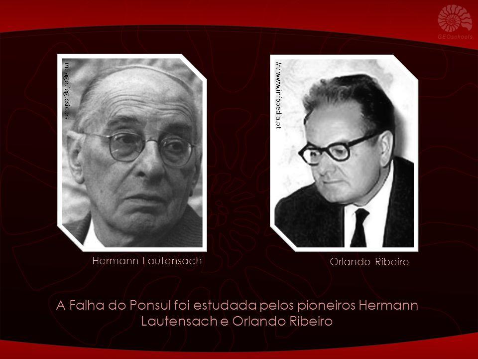 In: age.ieg.csic.es In: www.infopedia.pt. Hermann Lautensach. Orlando Ribeiro.