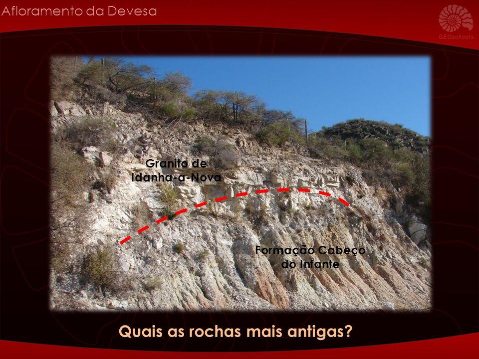 Quais as rochas mais antigas