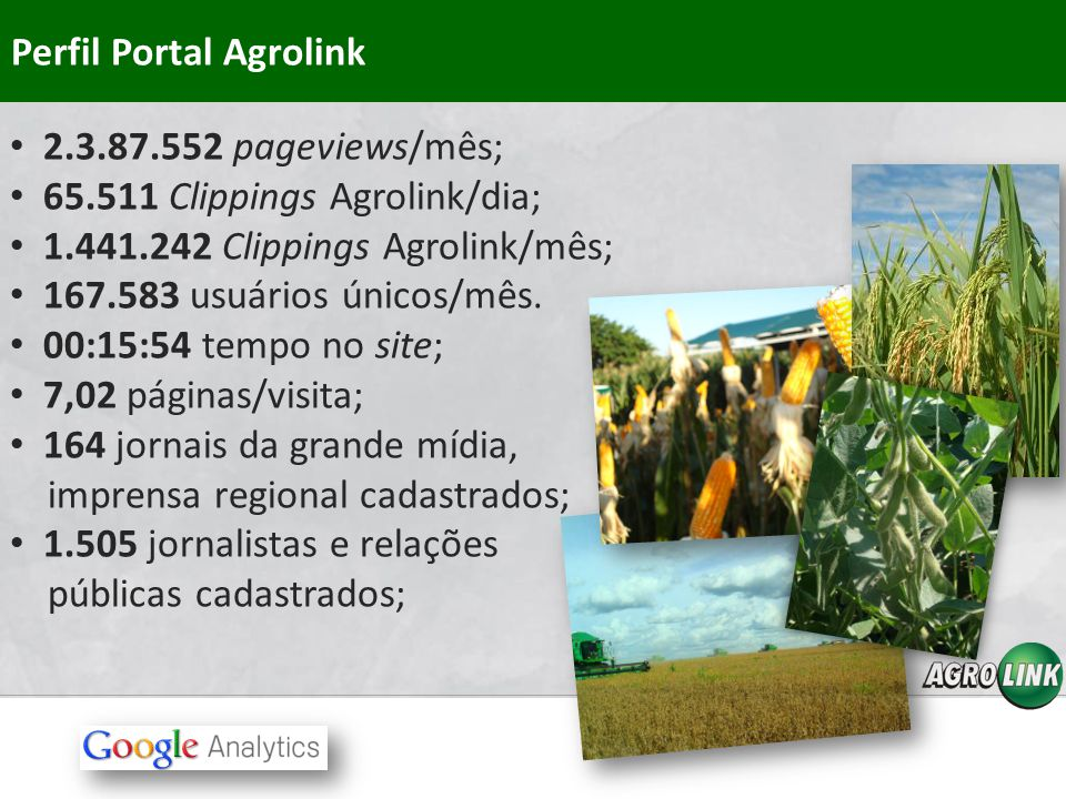 Perfil Portal Agrolink